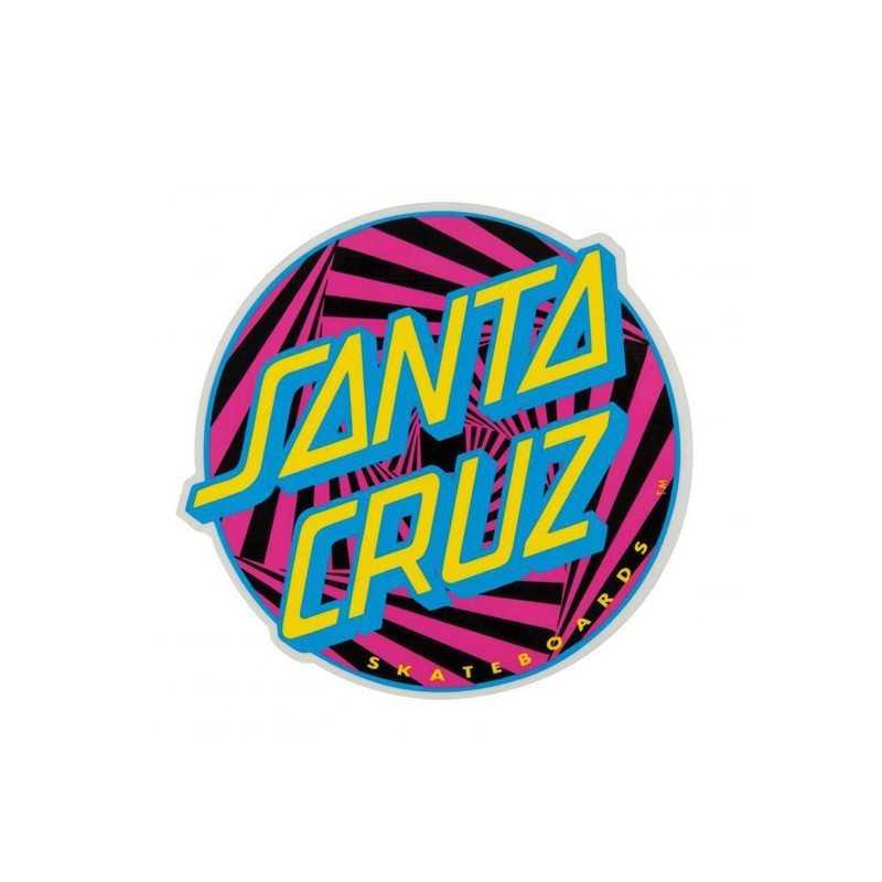 "Santa Cruz Party Dot 4"" Sticker"