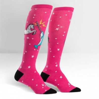 "Sock It To Me ""Unicorn Vs Narwhal"" Chaussettes Mi-bas"