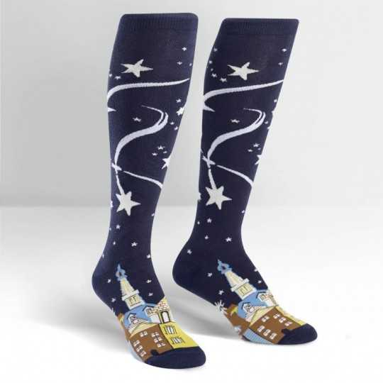 "Sock It To Me ""Wish Upon a Star"" Knee-High Socks"
