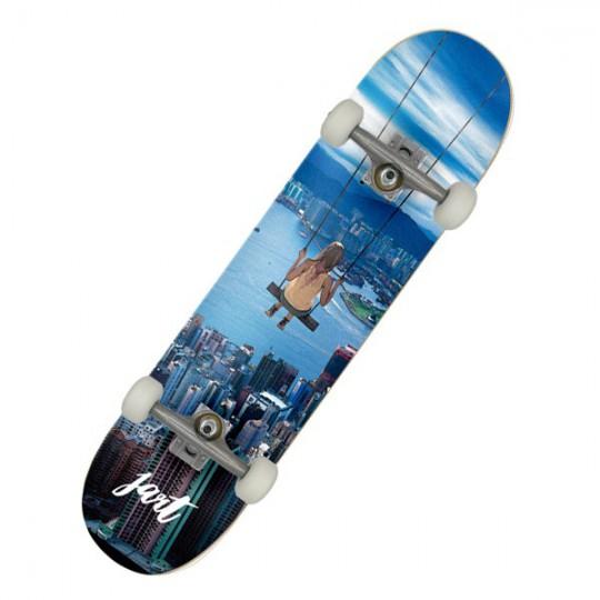 "Jart Metropolitan 7.87"" MC Complete Skateboard"
