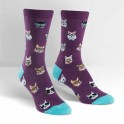 "Sock It To Me ""Smarty Cats"" Chaussettes Femmes"