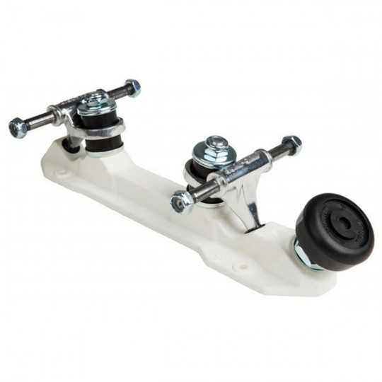 Sure-Grip Rock White Platines Roller Quad(Paire)
