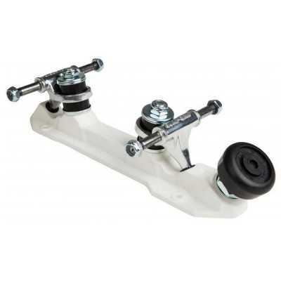 Sure-Grip Rock White Platines Roller Quad(Paire)