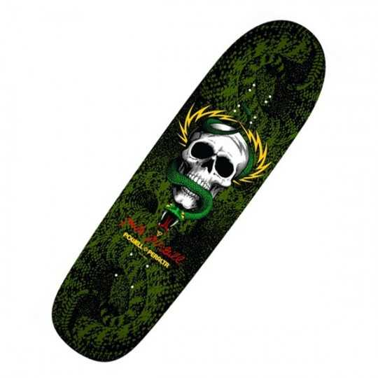 "Powell Peralta McGill Snake Skin 8.97"" Black/Green Skateboard Deck"