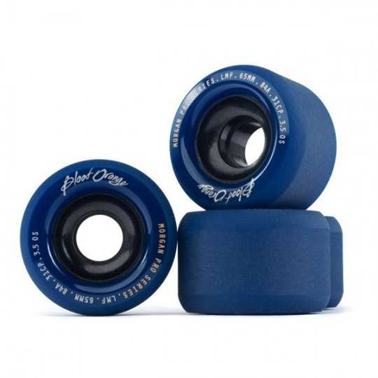 Blood Orange Morgan Pro 65mm Midnight Longboard Wheels