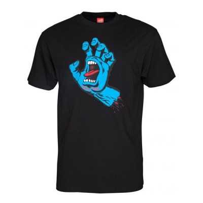 "Santa Cruz ""Screaming Hand"" Black Tee Shirt"