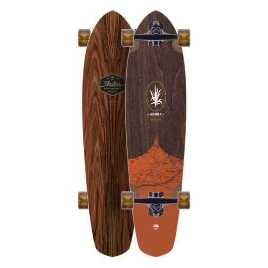 "Arbor Mission Groundswell 35"" Longboard Complet"