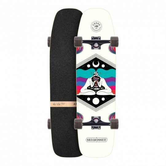 """Arbor Shakedown 34"""" Crosscut Skateboard Hybride Complet"""