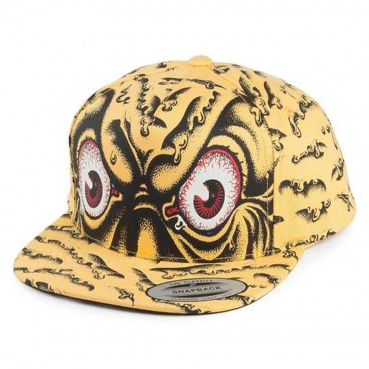 Santa Cruz Rob Eye Jaune Casquette