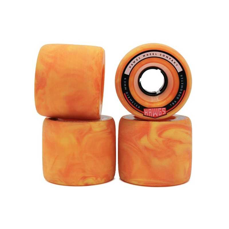Hawgs Fattie 63mm Longboard Wheels