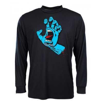"""Santa Cruz """"Screaming Hand"""" Tee Shirt Manches Longues Noir"""