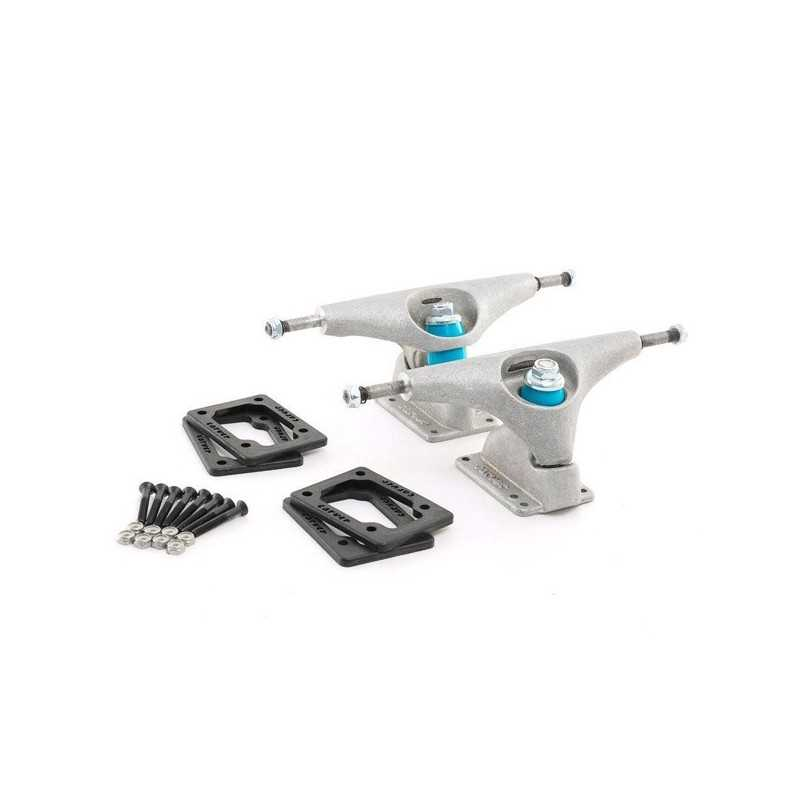 "Carver CX/C2 6.5"" Raw Street Surfing Trucks Set"
