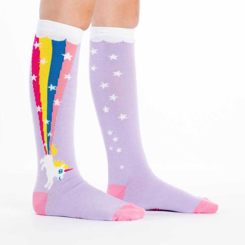 "Sock It To Me ""Rainbow Blast"" Chaussettes Mi-bas Enfants"
