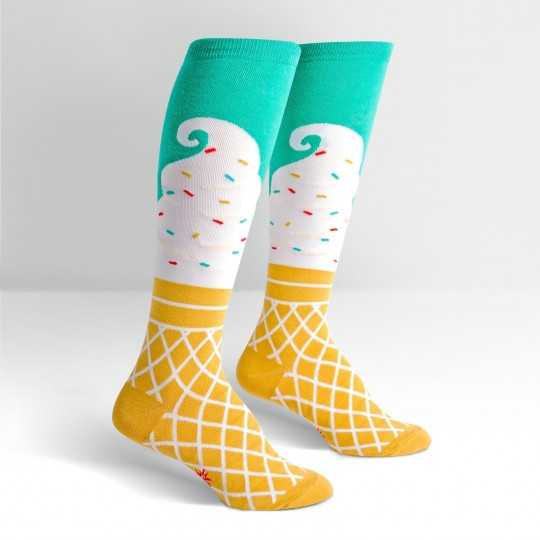 "Sock It To Me ""Ice Cream Dream"" Chaussettes Mi-bas"