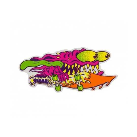"Santa Cruz Slasher Sword 6"" Sticker"