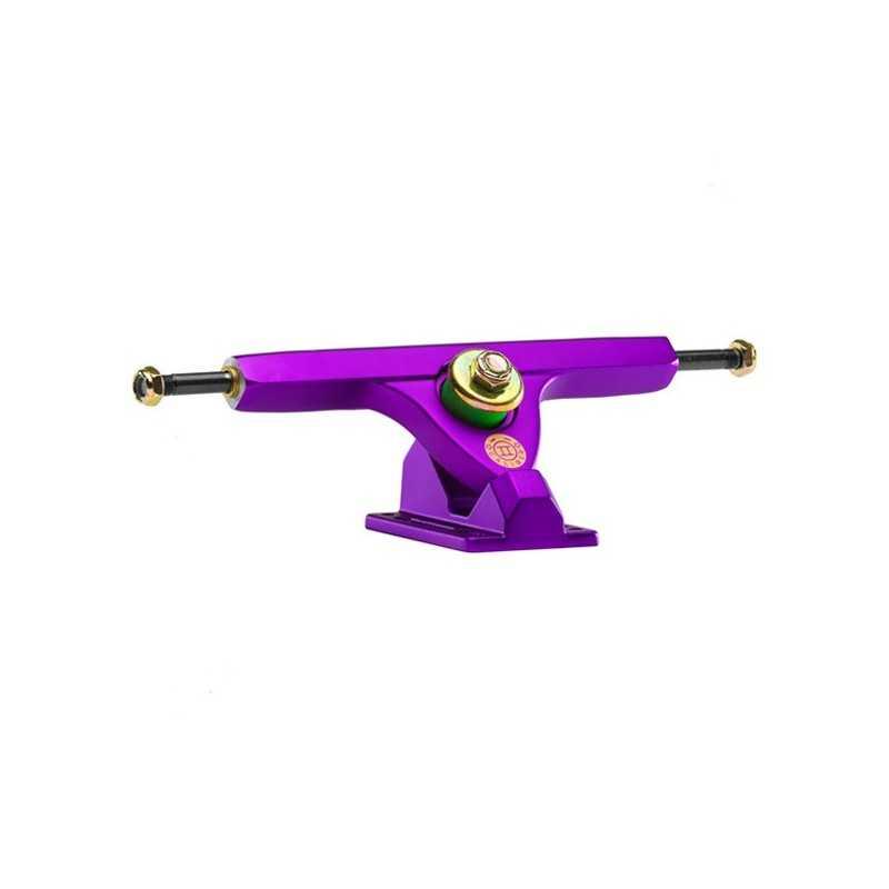 """Caliber 2 Fifty Satin Purple 10"""" (Vendu à l'unité) Truck longboard"""