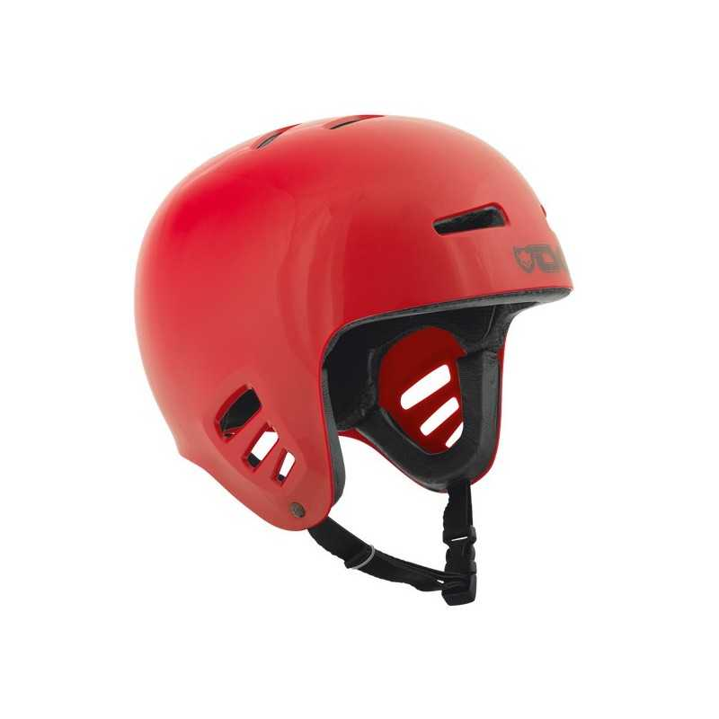 TSG Dawn Solid Red Skateboard helmet