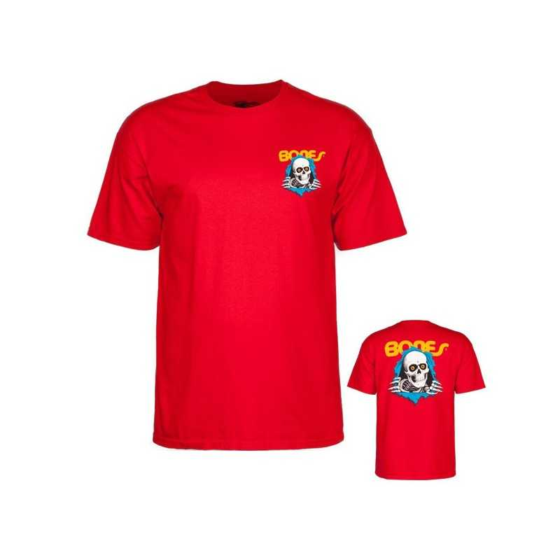 Powell Peralta Ripper Red Tee shirt