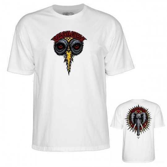 Powell Peralta Elephant Vallely Blanc Tee Shirt