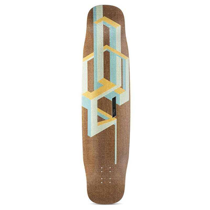 "Loaded Basalt Tesseract 39"" Plateau Longboard"