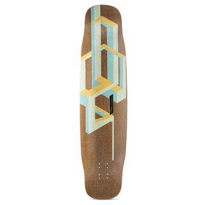 "Loaded Basalt Tesseract 39"" Longboard Deck"