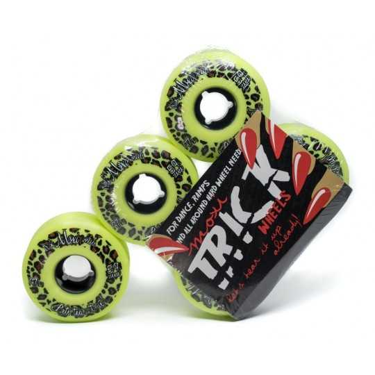 Moxi Trick 59mm Roller Skate Wheels(4 Pk)