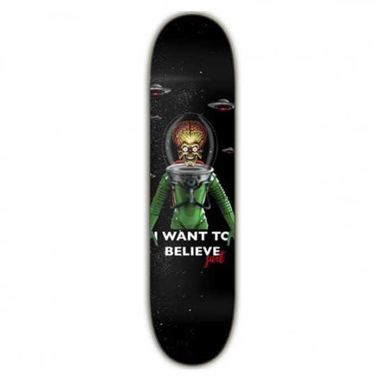 """Jart I Want To Believe 8"""" LC Plateau Skateboard"""