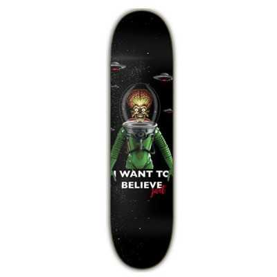 "Jart I Want To Believe 8"" LC Plateau Skateboard"