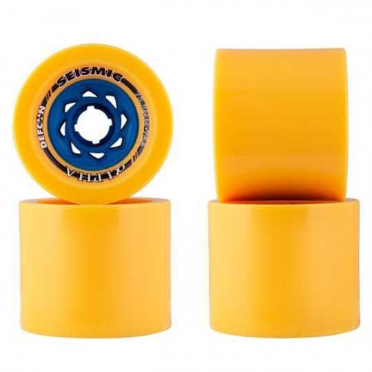Seismic Alpha Defcon 75.5mm Longboard Wheels