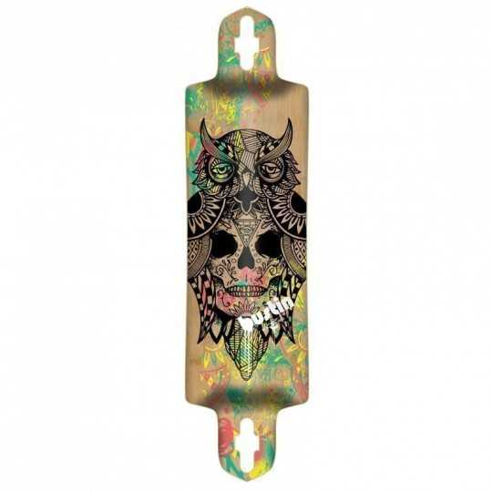 Bustin Ibach Bukhal Graphic Longboard Deck