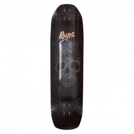 "Rayne Darkside V3 Skull 38"" Longboard Deck"