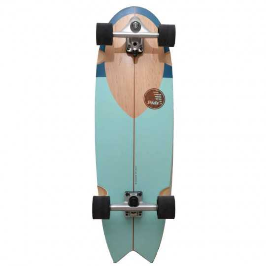 "Slide Swallow 33"" Noserider Surfskate"