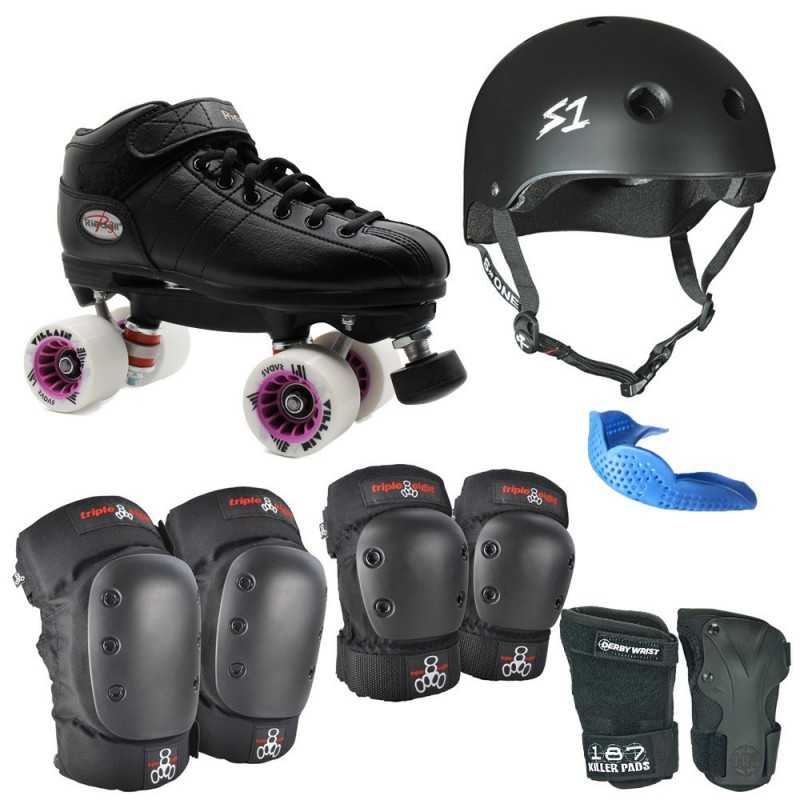 Riedell R3 Villain Safety+ Pack Fresh Meat