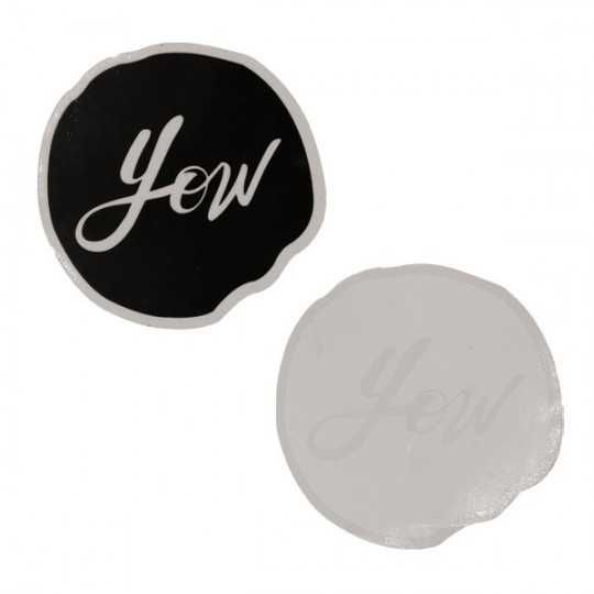 "YOW ""Dot Logo"" Autocollant"