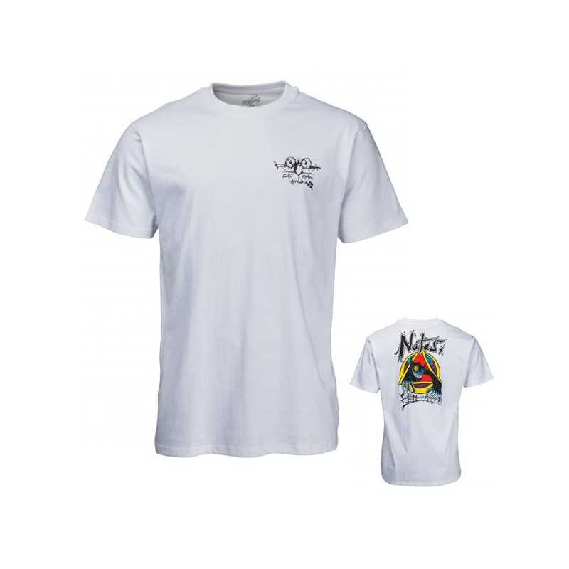 Santa Cruz Natas Evil Cat White Tee Shirt