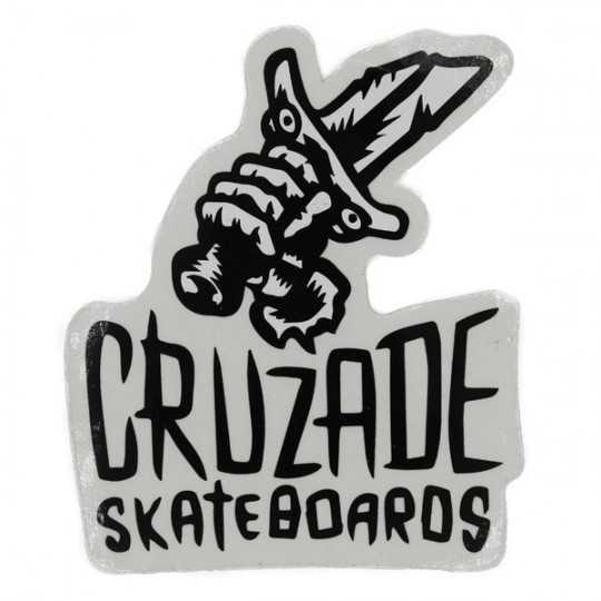 "Cruzade ""Blade Logo"" Autocollant"