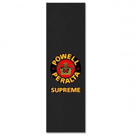 "Powell Peralta Supreme Black 9""x33"" Skateboard Griptape"