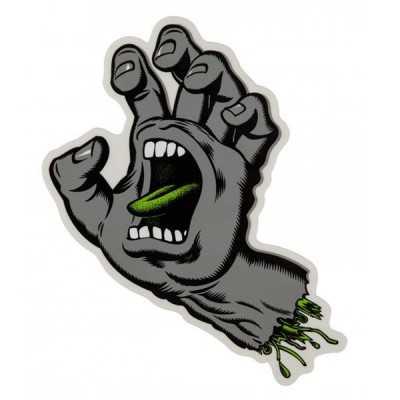 "Santa Cruz Screaming Hand 6"" Autocollant"
