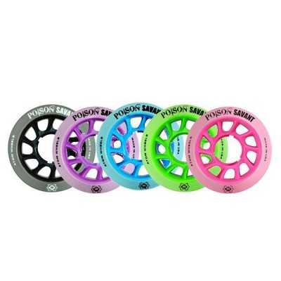 Atom Poison Savant 59x38 Roller Derby Wheels(Set of 4)