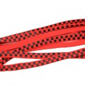 Sure-Grip Black/Red Checker Lacets