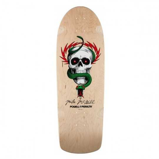 """Powell Peralta McGill OG Skull Snake 10"""" Natural Plateau Skateboard"""