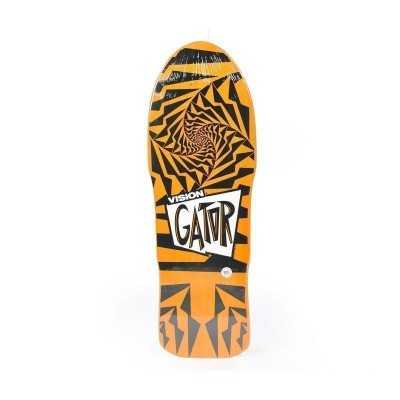 "Vision Gator II 10.25"" Orange & Black Skateboard Deck"