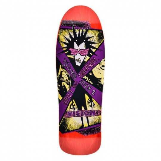 Vision Psycho Stick 2 Red Plateau Skateboard