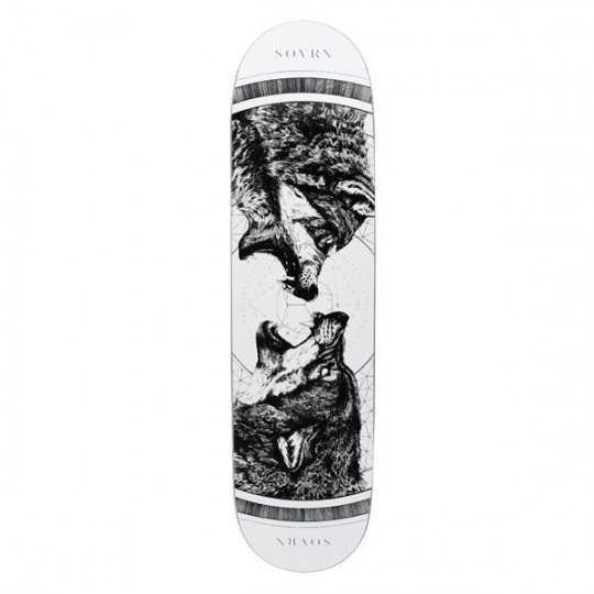 "SOVRN Geri & Freki 8.18"" MC Plateau Skateboard"