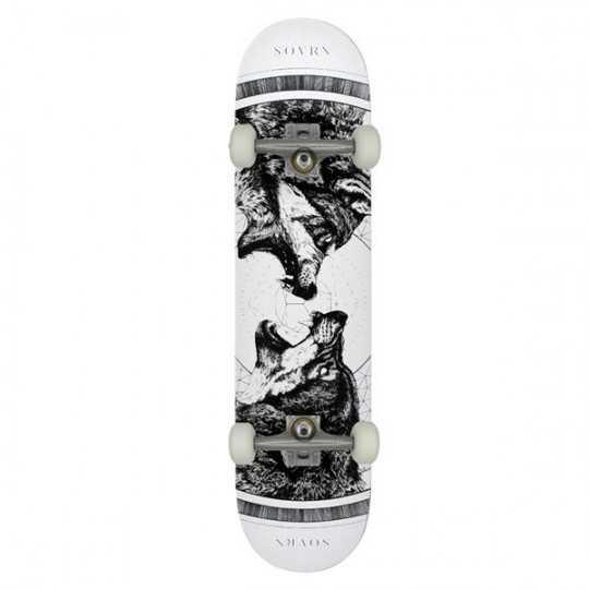 "SOVRN Geri & Freki 8.18"" MC Complete Skateboard"