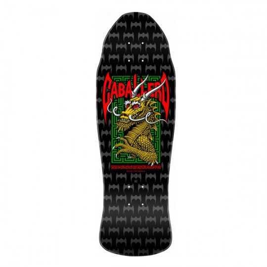 "Powell Peralta Caballero Street Black 9.62"" Plateau Skateboard"
