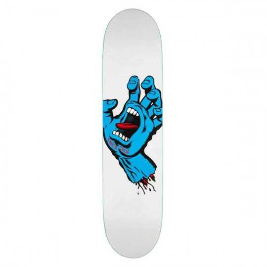Santa Cruz Hand Screaming Taper Tip Skateboard Deck
