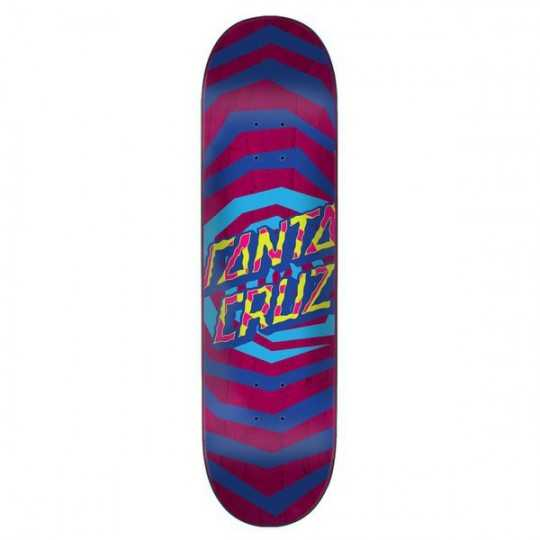 "Santa Cruz Illusion Dot 8.25"" Plateau Skateboard"
