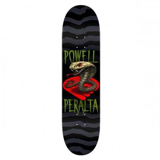 "Powell Peralta Cobra 8"" Green Plateau Skateboard"