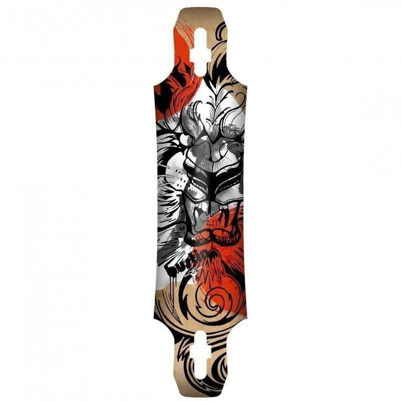Bustin Maestro 6 Raion Graphic Longboard Deck